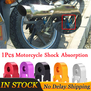 Image 1 - 1Pcs Motorcycle Shock Absorption Aluminum alloy Height Extender Suspension Riser Red/Purple/Black/Gold/Silver