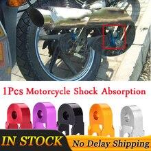 1Pcs Motorrad Dämpfung Aluminium legierung Höhe Extender Aussetzung Riser Rot/Lila/Schwarz/Gold/Silber