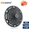 VG спортивный горный велосипед MTB 11 скоростей кассета 11 велоцидад 11 S 50T Запчасти для велосипеда Черный кассет Звездочка свободного хода Cdg Cog ...