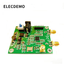 Hmc830 módulo phase locked loop pll módulo 25 m 3g com oled a bordo microcontrolador rf fonte de sinal porta serial