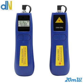 TL537 fiber power meter combination red pen TL536 20mW visual fault locator fiber cable tester