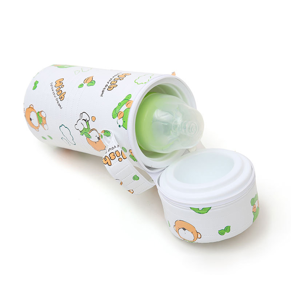 Hot Sale Cartoon Baby Bottle Bag  Portable Baby Bottle Insulation Bags  Mummy Handbag Milk Thermal Food Warm Bags Wholesale