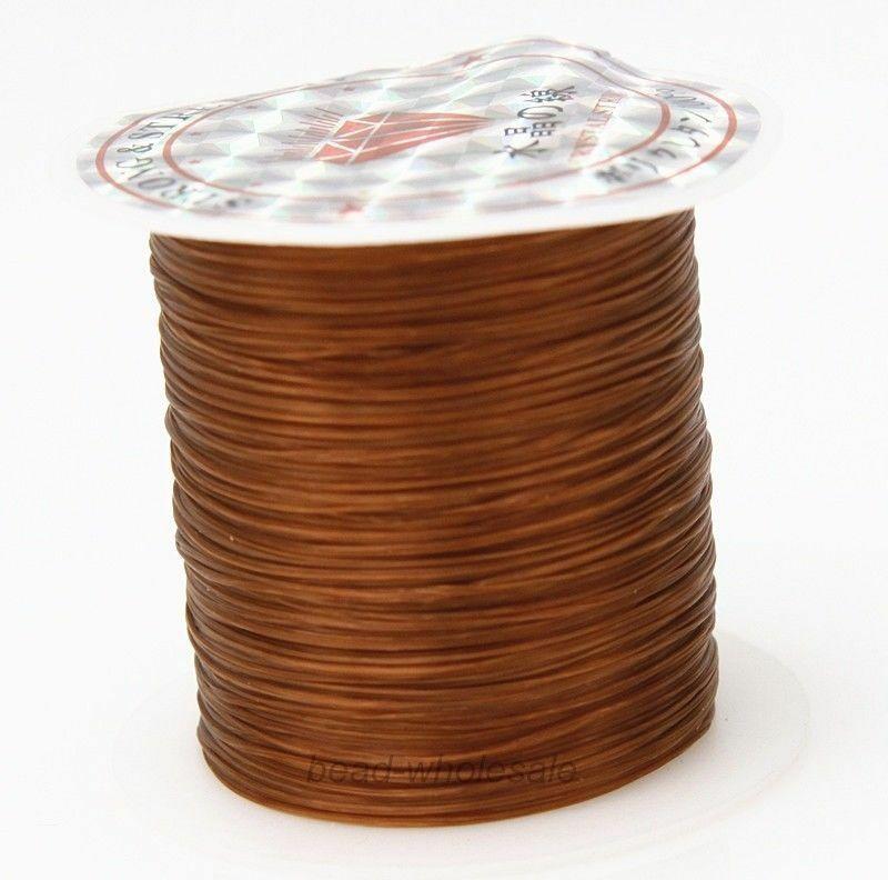 393 дюйма/рулон, крепкий эластичный шнур для бисероплетения с кристаллами, 1 мм, для браслетов, стрейчевая нить, ожерелье, сделай сам, для изготовления ювелирных изделий, шнуры, линия - Цвет: Color 23