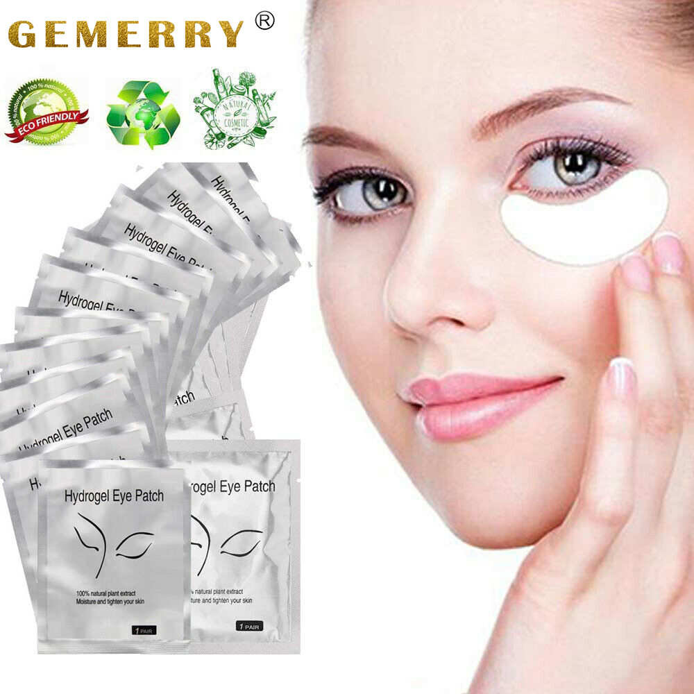 200/100 Pairs Patches For Building Hydrogel EyePads Eyelash Extension Lint Free Under Eye Gel Patches Mask Make-Up Supplies