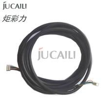 Jucaili – câble de signal long Senyang, 5 broches, pour imprimante Epson xp600/DX5/DX7 pour eco solvant, machine de différentes tailles
