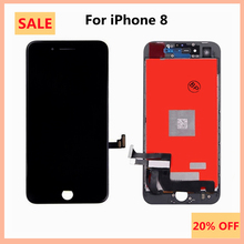 AAAA Quality No Dead Line LCD Display For iphone 8 LCD Touch Screen Digitizer Assembly For iphone8 LCDs For iphone8 LCD Display