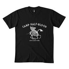 Acampamento metade sangue cabine 13 clássico t camisa 173dmn cuello redondo sudadera negro