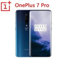Mondiale ROM Original Oneplus 7 Pro téléphone portable 6.67 pouces 4000mAh Android 9 Snapdragon 855 6GB RAM 128GB ROM Smartphone