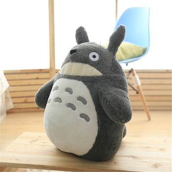 Cartoon My Neighbor Totoro Animal Plush Pillow Fabric Comfortable Filling Full soft toy Baby Room Decoration Pendant Holiday Gif