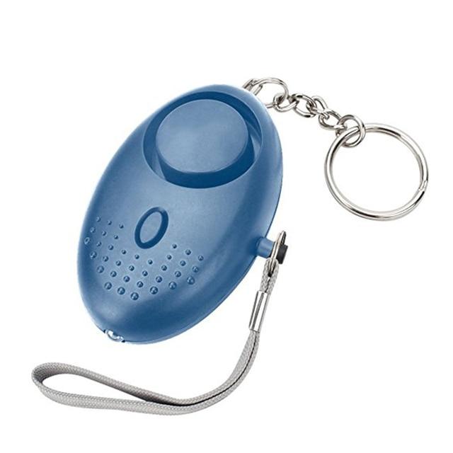 130dB Self Defence Keychain Safe Sound Anti-Attack Alarm LED Emergency -KL1 Emergency Alarm Personal Safety 6