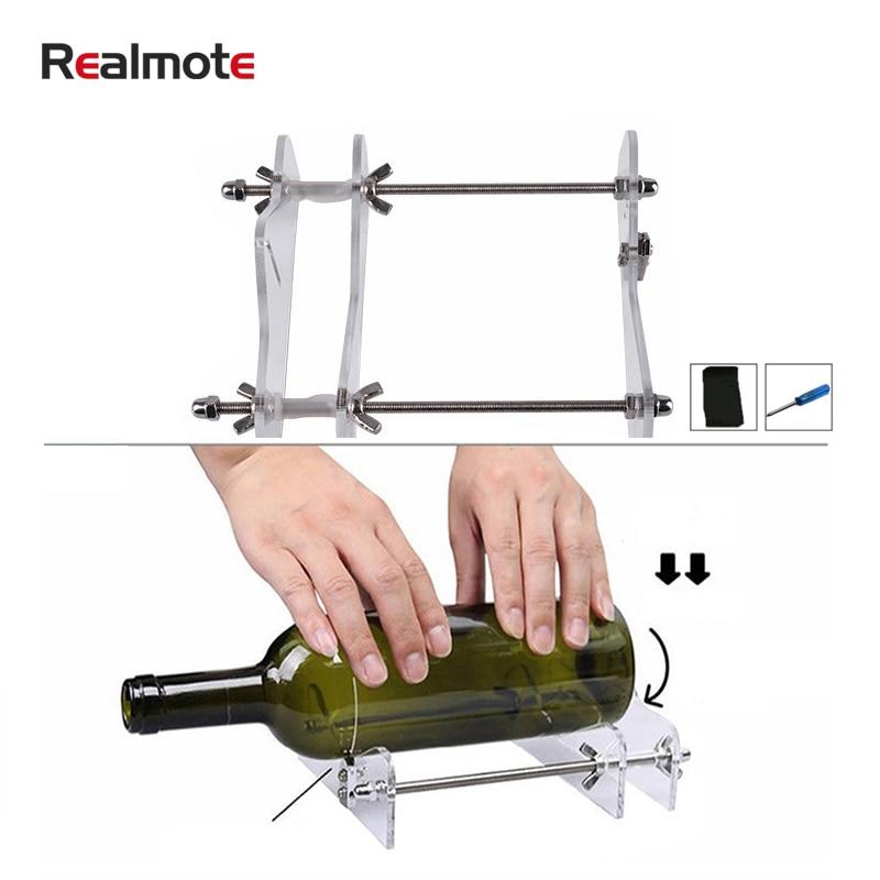 Профессиональный резак для пивных бутылок Realmote, резак для стеклянных бутылок, инструменты «сделай сам», машина для резки стаканов вина