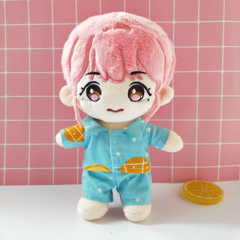 15cm baby dress 20cm exo doll shorts shirt South Korea EXO dress suit pajamas doll clothes doll accessories