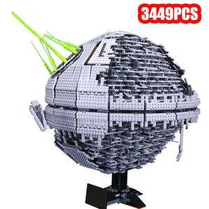 05026 05035 05063 Звездные серии войны UCS Death Star развивающие строительные блоки кирпичи игрушки Lepining 10143 10188 75159