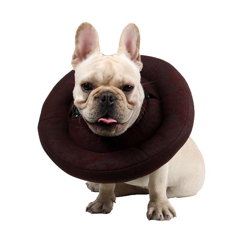 Pet Protective Cover Elizabeth Neck Ring Law Bucket For Cotton Sheath Anti-Lick Anti-Bite Guard Dog Collar.