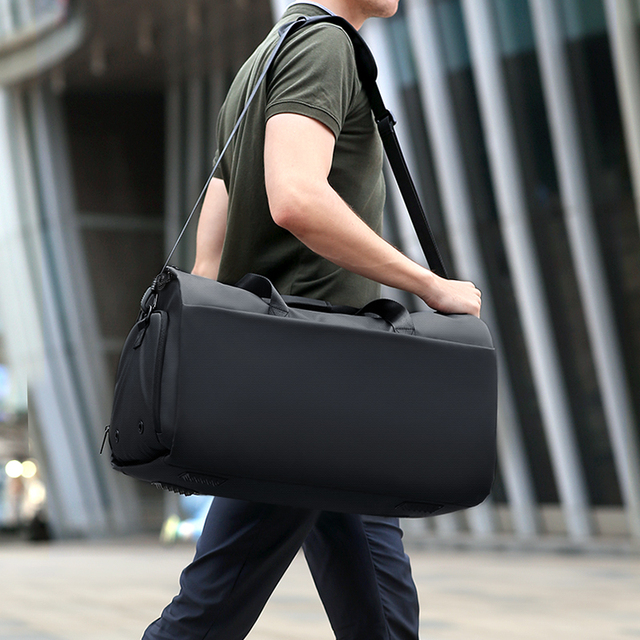 Fenruien New Men Multi-Function Large Capacity Travel Bag Suit Luggage Bag 17 Inch Laptop Waterproof Tote Bag With Shoe Pouch 2