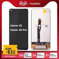 100% LCD Original para Huawei Honor 20/Honor 20 Pro pantalla LCD pantalla táctil digitalizador montaje pantalla LCD con piezas de reparación