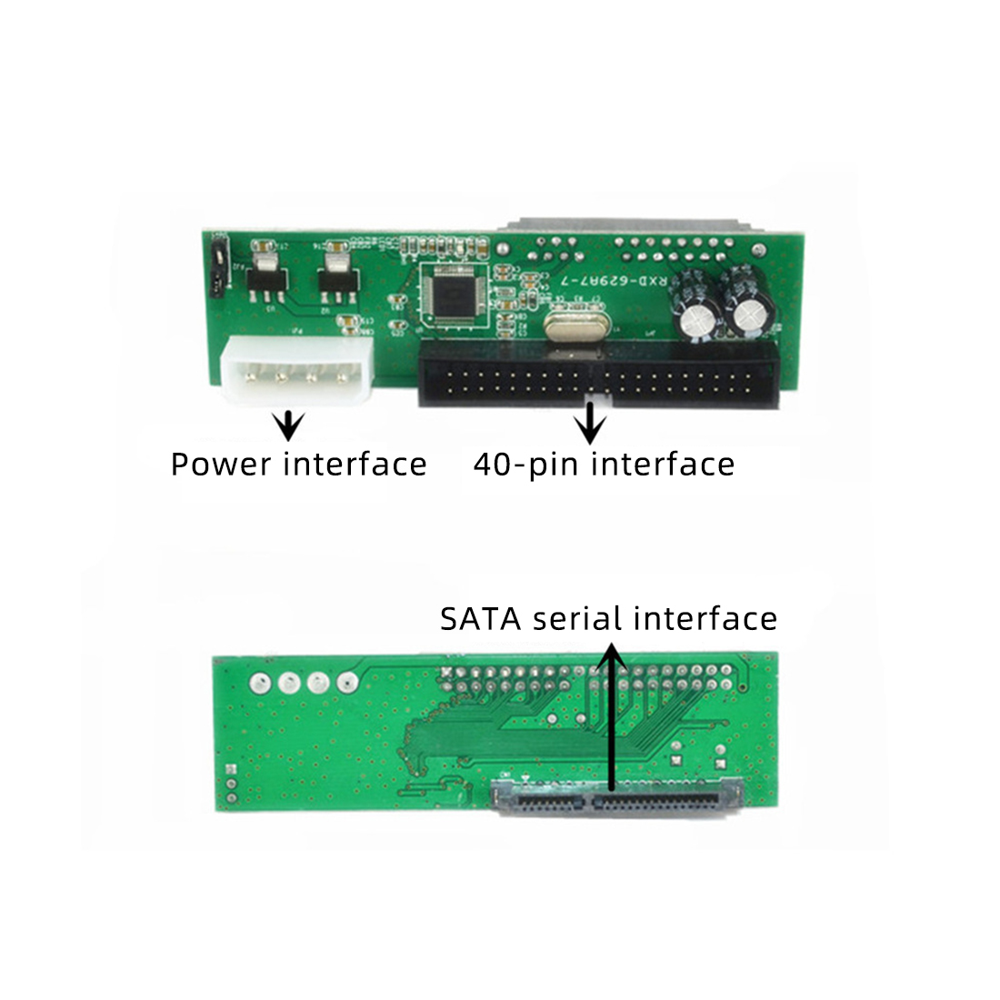 Pata IDE to Sata Hard Drive Adapter Converter 7 15 Pin 3 5 2 5 quot DVD HDD Parallel to Serial ATA for CD ROM CD RW DVD DVD RAM HDD in Add On Cards from Computer amp Office