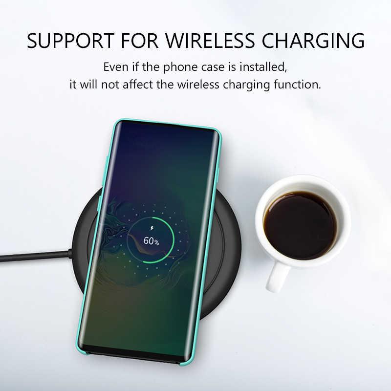 Чехол для Samsung S10 оригинальный высококачественный мягкий силиконовый защитный чехол для Samsung Galaxy S8 S9 S10 Plus S10e Note 8 9 10 силиконовый чехол