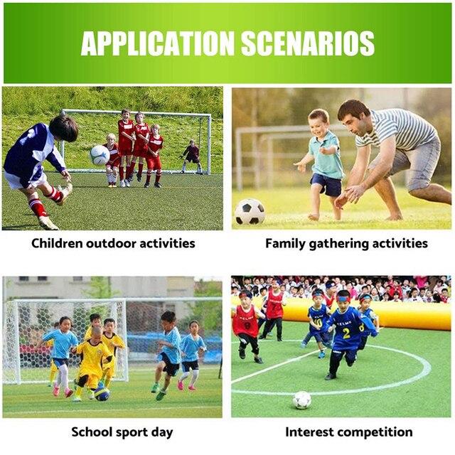 Filet de but de Football, filet d'entraînement Durable, maille de poteau d'entraînement pour Football, Match Junior Sports de plein air, pratique du Fitness 6