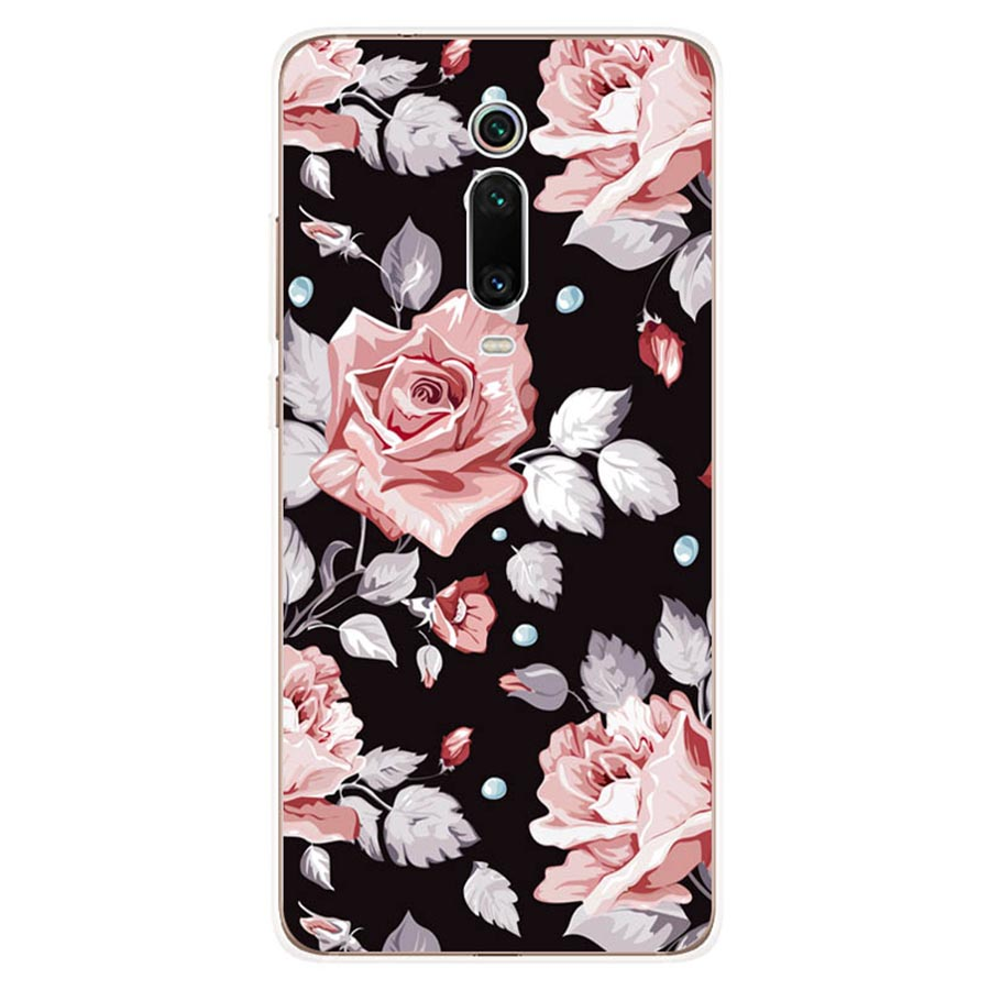 For Xiaomi Redmi K20 TPU Silicone Case Back Cover For Xiaomi Redmi K20 Pro Case K 20 Capa Tempered Red mi K20 K20Pro Phone Cases in Half wrapped Cases from Cellphones Telecommunications