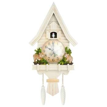Cuckoo Quartz Wall Clock Modern Bird Plastic Resin Wall Clocks Living Room Hanging Watch Horologe Home Decoration 69x33cm
