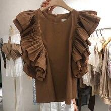 Женские повседневные Рубашки Топы летняя женская блузка с рукавами
