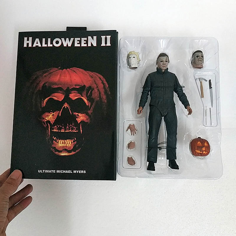 2019 NEW Original Neca Halloween Ultimate Michael Myers II Action Figure Model Toys Doll For Gift