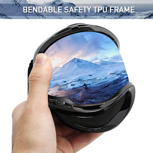 Image 3 - MAXJULI Ski Googles UV Protection Anti Fog Snow Goggles for Men Women Youth M1