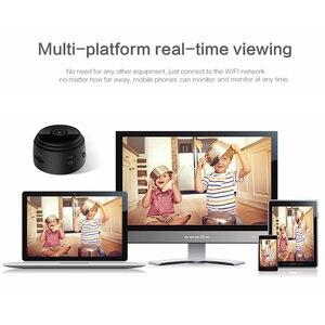 Image 5 - A9 카메라 캠코더 라운드 전체 1080P 나이트 비전 와이파이 미니 IP 카메라 원격 제어 흡입 비디오 레코더 스포츠 DV 카메라