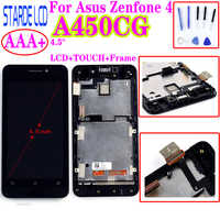 Starde Replacement LCD 4.5'' for Asus Zenfone 4 A450CG LCD Display Touch Screen Display With Frame Digitizer Assembly