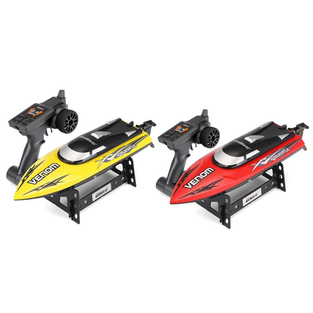 Remote Control Boat High Speed Wireless RC Boat With Alarm Rechargeable Speedboat Flip Recovery Reverse Boat Model Rowing Toy
