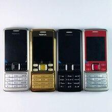 Original Nokia 6300 téléphone portable débloqué Bluetooth caméra et anglais arabe russe clavier