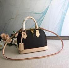 2021 vendas quentes woxk ! ! ! Nova moda feminina bolsas de couro real alta qualidade bolsas alma saco frete grátis