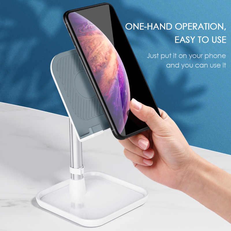 LINGCHEN デスク iphone 4 の X XS 最大 iPad ユニバーサル携帯タブレット電話ホルダーデスク Xiaomi サムスン銀河 s10 S9 S8