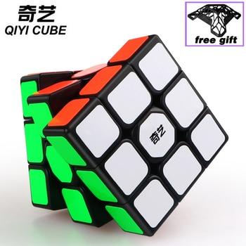 QiYi Magic ubes 3x3x3 Sail W 3x3 professional speed cube stickers magic puzzles educational twisty toys game cube 3*3 yongjun diamond symbol 3x3x3 magic cube yj 3x3 professional neo speed puzzle antistress fidget educational toys for children