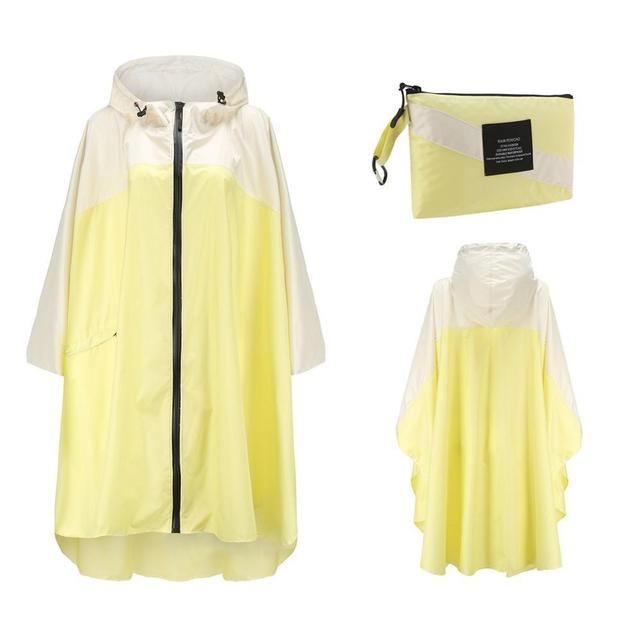 Big Size XXL Women Breathable Raincoat Lightweight Rain Coat Poncho Ladies Waterproof Cloak Raincoats Adults Windproof Rainwear 3