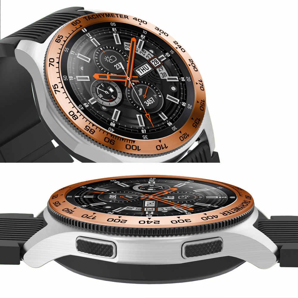 הילוך S3 כיסוי עבור Samsung הילוך S3 Frontier Galaxy שעון 46mm חדש טבעת דבק כיסוי אנטי שריטה smart watch אבזרים s3 46