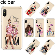 ciciber Cover For Redmi Note 7 6 5 4 A 3 X Pro Phone Cases Soft TPU Xiaomi S Plus S2 Super Mom Girls