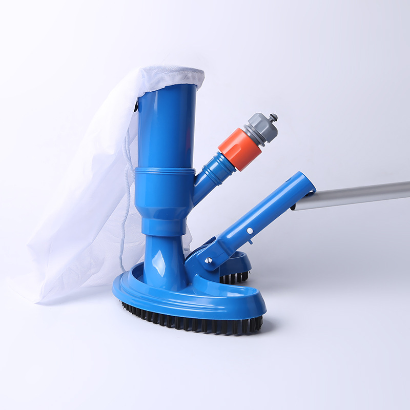 Swimming Pool Vacuum Cleaner Cleaning disinfect Tool Suction Head Pond Fountain Spa Pool Vacuum Cleaner Brush EU/US Plug(China)