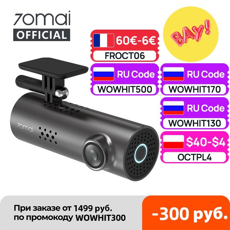70mai Car DVR 1S APP & English Voice Control 70mai 1S 1080P HD Night Vision 70mai 1S Dash Camera Recorder WiFi 70mai Dash Cam DVR/Dash Camera  - AliExpress