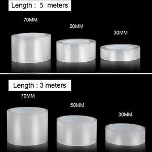 Image 5 - Auto Aufkleber Automobil Stamm Tür Sill Protector Film Tür Rand Schutzhülle Transparent Nano Multi Funktion Kleber Auto Schutz