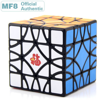 MF8 Window Grilles II Paper Cutting Paper-cuts Skewbed/Skewed Magic Cube Professional Speed Puzzle Twisty Educational Toys