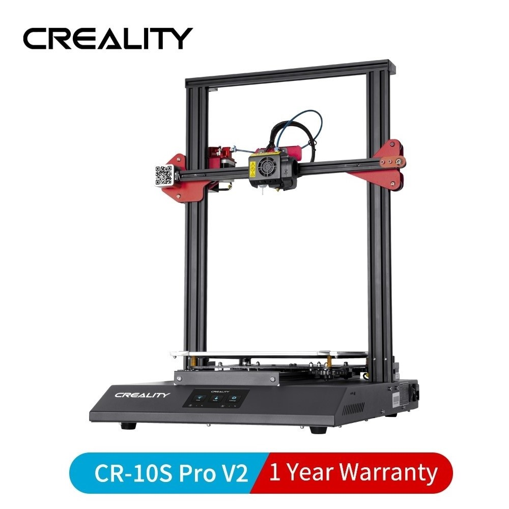 CREALITY 3D CR-10S PRO V2 3D Printer Add BL Touch Leveling With Resume Print Filament Sensor