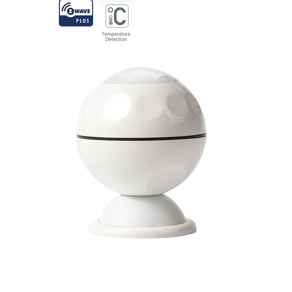 Z-wave Plus PIR Motion Sensor +Temperature Home Automation Z Wave Alarm System Motion Sensor EU 868.4MHZ NAS-PD02Z