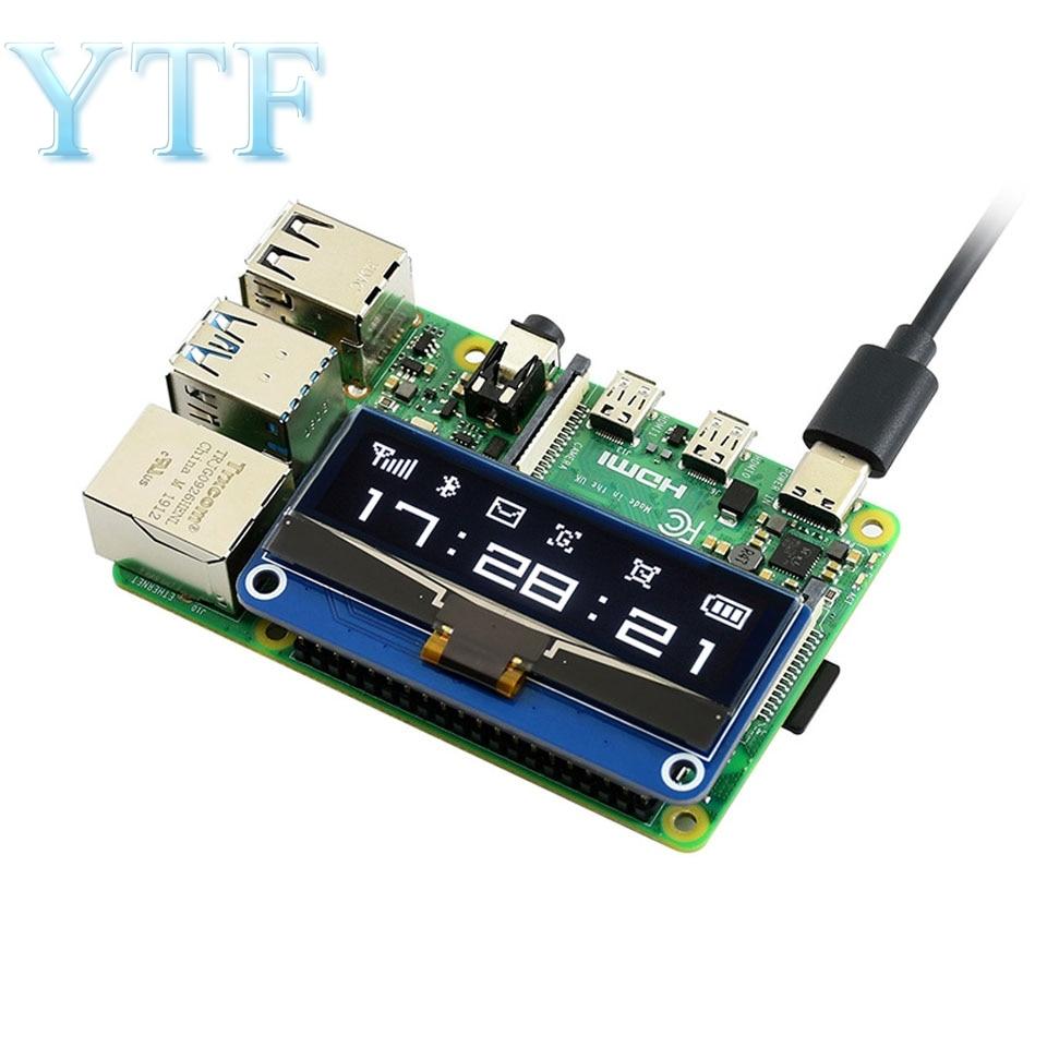 Raspberry Pi 4B 2.23 Inch OLED Display Expansion Board Module Support SPI/I2C / Jetson Nano