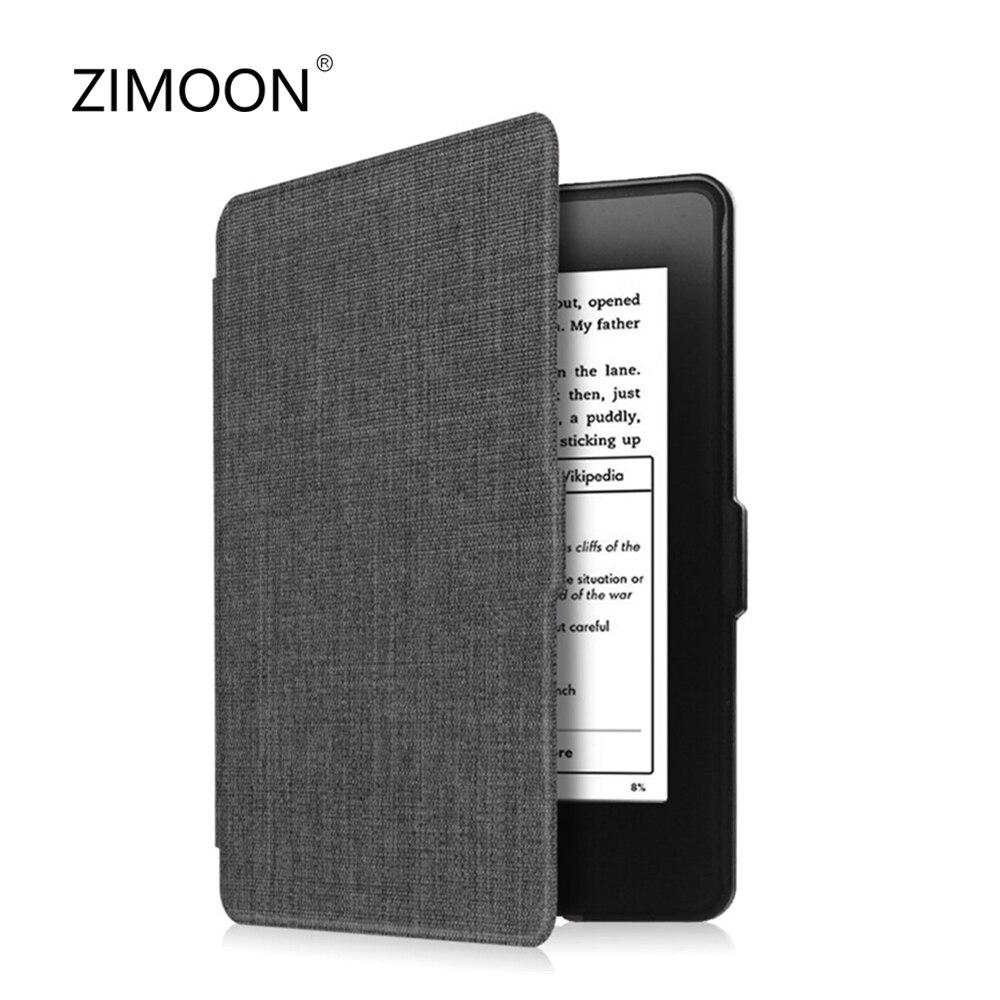 Чехол Kindle из денима, чехол из ПК, умная задняя крышка для Kindle Paperwhite 1/2/3, волшебный чехол для всех, Paperwhite, DP75SDI до 2018 года