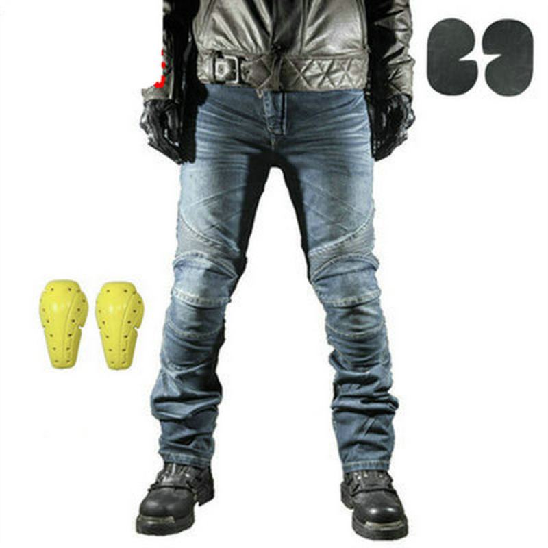 Motorcycle Pants Men Moto Jeans Protective Gear Riding Touring Motorbike Trousers Motocross Pants Pantalon Moto Pants
