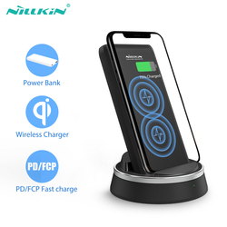 NILLKIN Power bank 10000mAh PD Fast Charging 10w Portable External Battery for xiaomi power bank wireless charger TYPE-C charger