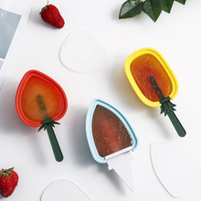 4PCS Silicone Ice Cream Popsicle Mould Stick Cube Mold Innovative Fruit Shape Diy Maker Kitchen Tools