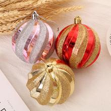 12x Christmas Baubles Ball Ornaments Christmas Tree Decoration Hainging Balls Party Wedding Garden Tree Decorative Ball smkj e1hq christmas colored hair ball decorative snowman ornaments 10 pcs